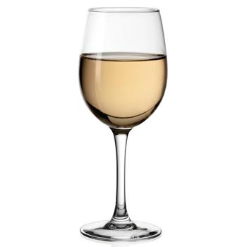 Vente et dégustation de vin - verre de vin blanc